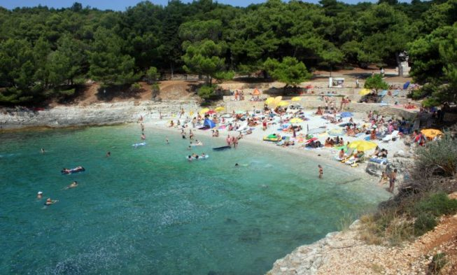 Beaches in Pula