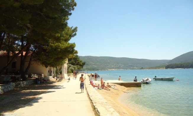 Beaches on the island of Cres